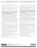 Pagina 4 del Thule Thru-Axle Adapter 15mm