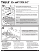 Pagina 1 del Thule WaterSlide 854