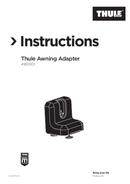 Pagina 1 del Thule Awning Adapter
