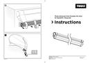 Página 1 do Thule Universal Tent Fixation Kit