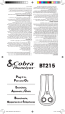 Cobra PhoneLynx BT215 page 1