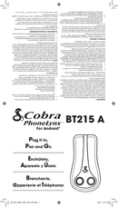 Cobra PhoneLynx BT215 A page 1