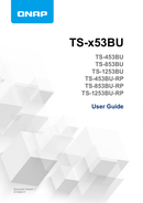QNAP TS-853BU-4G страница 1