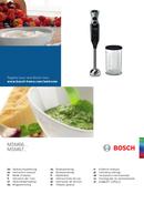 Bosch ErgoMixx MSM67110W side 1