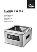 Solis Chamber Vac Pro 5702 pagina 1