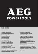 Página 1 do AEG Compact BSB 18 202C