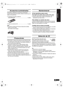Panasonic RX-ES23 page 3