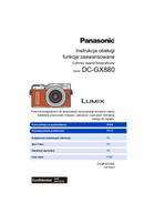 Panasonic Lumix DC-GX880 page 1