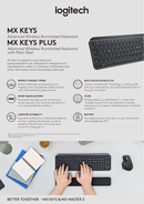 Página 1 do Logitech MX Keys