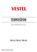 Pagina 1 del Vestel TRV-50