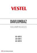 Vestel AD-6001 X sayfa 1