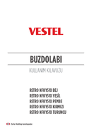 Página 1 do Vestel RETRO NFKY510 BEJ