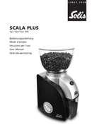 Solis Scala Plus Grinder 1661 pagina 1