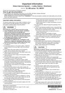 Panasonic VL-VM902EX page 1