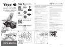 Página 1 do Thule Yepp Maxi EasyFit Carrier XL