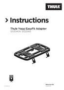 Página 1 do Thule Yepp EasyFit Adapter