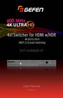 página del Gefen EXT-UHD600-41 1