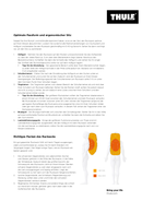 Página 4 do Thule Guidepost 65L