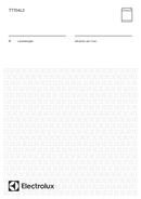 Electrolux TT704L3 pagina 1