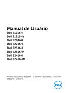 Página 1 do Dell E1916H