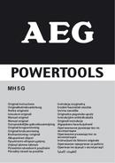Página 1 do AEG MH 5 G