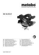 Metabo KS 18 LTX 57 Seite 1