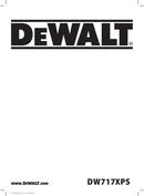 DeWalt DW717XPS page 1