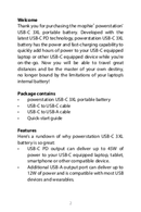 Mophie PowerStation USB-C 3XL page 2