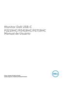 Dell Professional P2219HC page 1