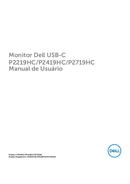Dell Professional P2219HC pagina 1