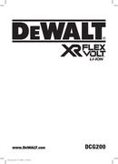 DeWalt DCG200 page 1