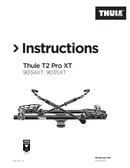 Página 1 do Thule T2 Pro XT