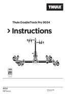 Página 1 do Thule DoubleTrack Pro 9054