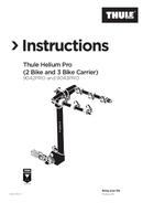 Pagina 1 del Thule Helium Pro