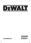 DeWalt D25899K pagina 1