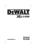 DeWalt DCS380N page 1