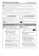 Página 2 do Panasonic F-VXR90G
