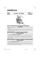 Metabo M 12V2 Seite 1