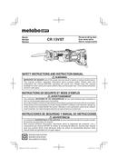 Metabo CR 13VST Seite 1