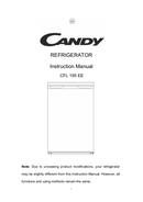 Candy CFL 195 EE side 1