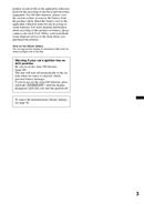 Pagina 3 del Sony XAV-601BT