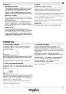 Página 5 do Whirlpool W7 MW561