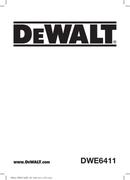 DeWalt DWE6411 page 1