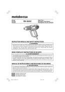 Metabo RH 650V Seite 1