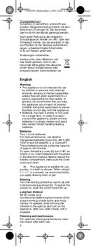 Braun M-60r pagina 4