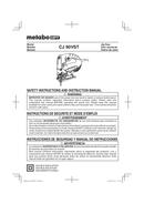 Metabo CJ 90VST Seite 1
