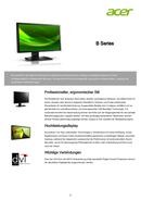 Acer B243HLCOwmdr sivu 2