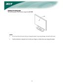 Acer X 222W sivu 4