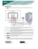 Acer X 222W sivu 5