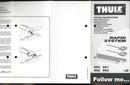 Página 1 do Thule Aero Bar 861